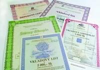 informácie o cenných papierov